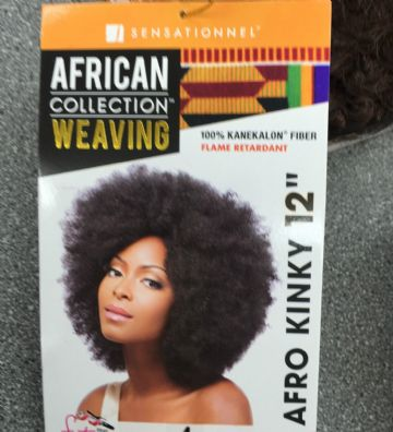 AFRO KINKY - SENSATIONNEL AFRICAN COLLECTION WEAVING 100% KANEKALON FIBER